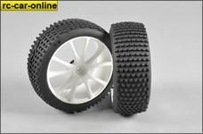 67208/06 FG Mini-Pin Reifen 170 - Hart, verklebt, weiß