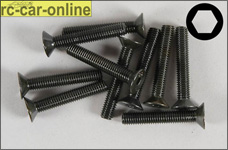 6722/35 FG Countersunk screw M5x35 mm, 10 pieces