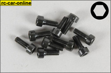 6724/06 FG Socket head cap screws M3x6 mm, 10 pieces