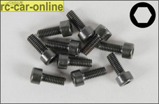 6725/12 FG Socket head cap screws M4x12 mm, 10 pieces