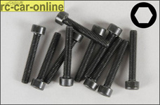 6725/25 FG Socket head cap screws M4x25 mm, 10 pieces