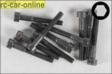 6725/30 FG Socket head cap screws M4x30 mm, 10 pieces