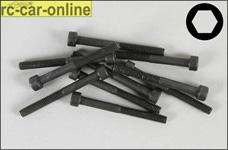 6725/40 FG Socket head cap screws M4x40 mm, 10 pieces