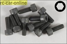 6726/14 FG Socket head cap screws M5x14 mm, 10 pieces