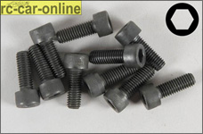 6726/16 FG Socket head cap screws M5x16 mm, 10 pieces