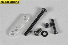 67298/04 FG  Aluminium mounting strap, 1pce.