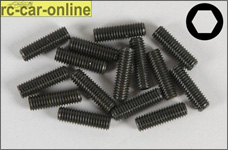 6730/20 FG Allen Grub screw M5x20 mm, 15 pieces