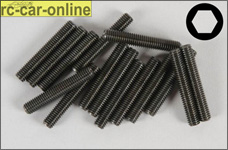 6730/25 FG Allen Grub screw M5x25 mm, 15 pieces