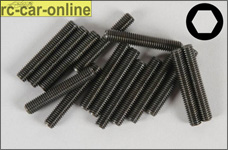 6730/30 FG Allen Grub screw M5x30mm - 15pcs.