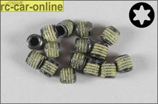 6730/52 FG Grub screw with safety device M5x5mm Torx, 10 pie
