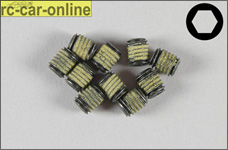 6730/61 FG Allen Grub screw with safety device M5x6 mm