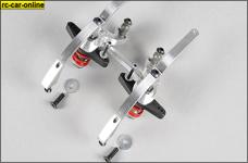67371 FG Alu-Doppel-Servo-Saver 2WD, 1 Set