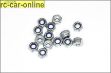 6738/03 FG Self-locking hexagon nut M3, 15 pcs.