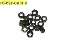 6738/04 FG Self-locking hexagon nut M4, 15 pcs.