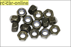 6738/06 FG Self-locking hexagon nut M6, 15 pcs.