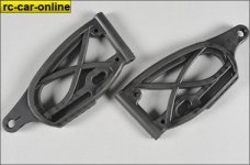 67565 FG Front lower plastic wishbone, Leopard, 2pcs.
