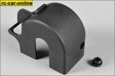 68407/01 FG Rear axle cover w. rubber plug, 4WD, set