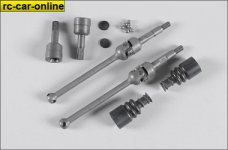 68431 FG Universal joint for front axle Leopard 4, set