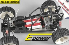 68510 FG Electric conversion kit 1:6 2WD for 465 Wheelbase,