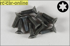 6920/14 FG Countersunk screw with Torx M4x14 mm, 10 pieces