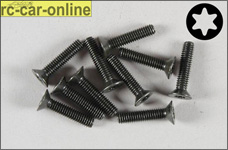 6920/16 FG Countersunk screw with Torx M4x16 mm, 10 pieces