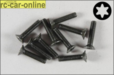 6920/18 FG Countersunk screw with Torx M4 x 18mm, 10 pieces