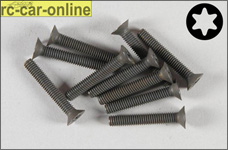 6920/25 FG Countersunk screw with Torx M4x25 mm, 10 pieces