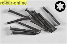 6920/40 FG Countersunk screw with Torx M4x40 mm, 10 pieces