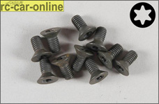 6922/10 FG Countersunk screw with Torx M5x10 mm, 10 pieces