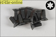 6922/14 FG Countersunk screw with Torx M5x14 mm, 10 pieces
