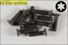 6922/20 FG Countersunk screw with Torx M5x20 mm, 10 pieces