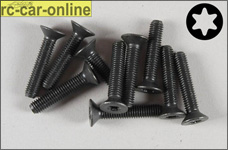 6922/25 FG Countersunk screw with Torx M5x25 mm, 10 pieces
