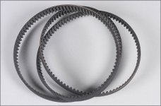 69237/01 FG  Toothed belt 15mm, 530, 1pce.