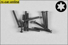 6924/25 FG Pan-head screw with Torx M3 x 25 mm, 10 pieces