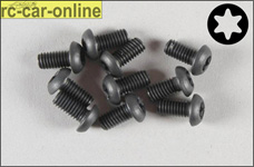 6925/10 FG Pan-head screw with Torx M4x10 mm, 10 pieces