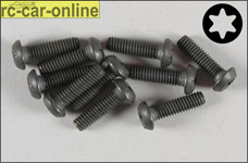6925/14 FG Pan-head screw with Torx M4x14 mm, 10 pieces