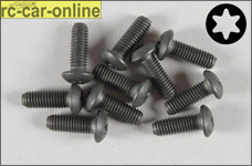 6926/14 FG Pan-head screw with Torx M5x14 mm, 10 pieces