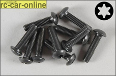 6926/20 FG Pan-head screw with Torx M5x20 mm, 10 pieces