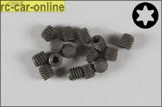 6929/04 FG Gewindestift mit Torx M4x4 mm, 15 Stück