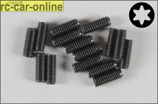 6929/10 FG Grub screw with Torx M4x10 mm, 15 pieces