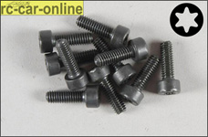 6932/14 FG Socket head cap screw with Torx M4x14 mm, 10 piec
