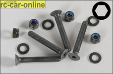 7072/03 FG Recessed countersunk head screws M5x35 mm for rea