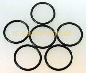 7095/01 FG O-ring for adjustable ring - 6pcs.