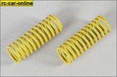 7182 FG Damper spring 2,3mm yellow, 2 pce.