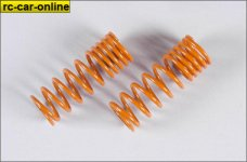 7192 FG Dämpfer-Druckfeder progressiv 2,2x58mm orange,