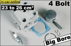 7389 FG Original Zenoah 4 Bolt rubuild kit from 23 cm³
