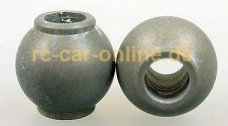 7475/03 FG Alloy ball-and-socket joint Ø10x9,5mm - 2p