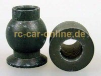 7475/04 FG Alloy ball-and-socket joint Ø10x13mm - 2pc