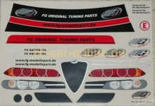 8079/01 FG Vehicle decal set FG Alfa Romeo, set