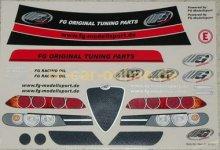 8079/01 FG Alfa Romeo Fahrzeug-Dekorbogen, Set